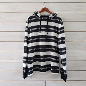Tony Hawk Boys XXL striped hooded sweatshirt